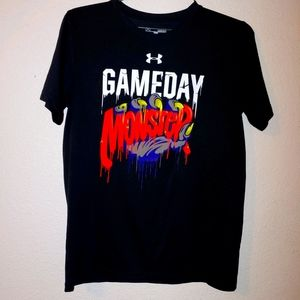GameDay monster shirt under armor youth large